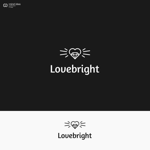 Logo design for Lovebright