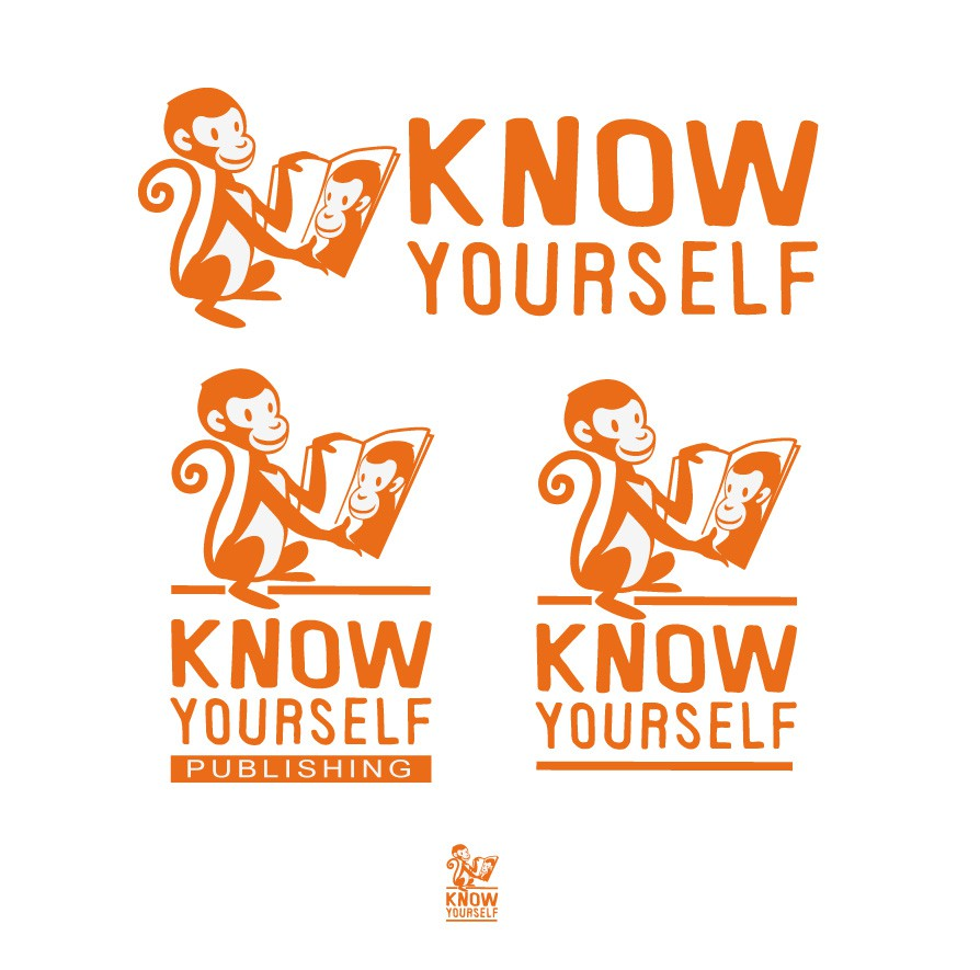 "Cool logo for publishing company ""Know Yourself"""