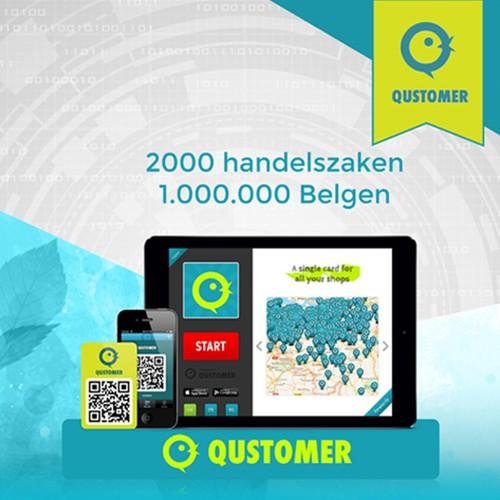 Info-graphic Flyer for Qustomer