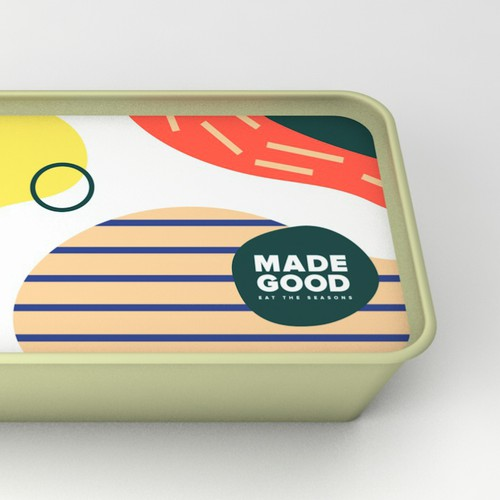 Bold and Colourful Logo for Seasonal Food Start-Up