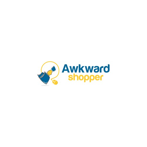 Awkward shopper logo