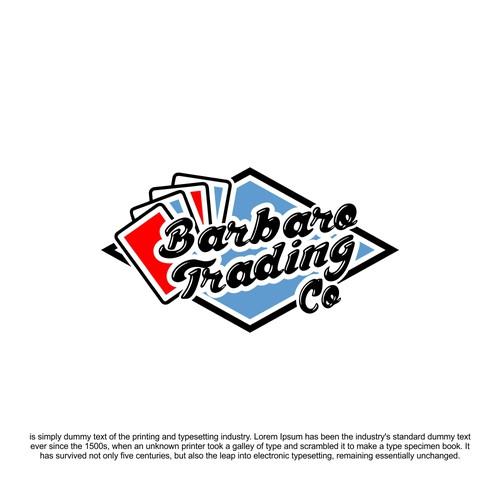barbaro trading card logo