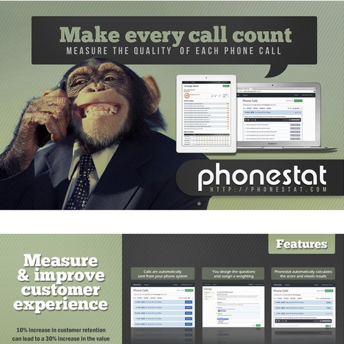 PhoneStat Brochure Design