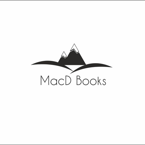 Logo concept for travel books