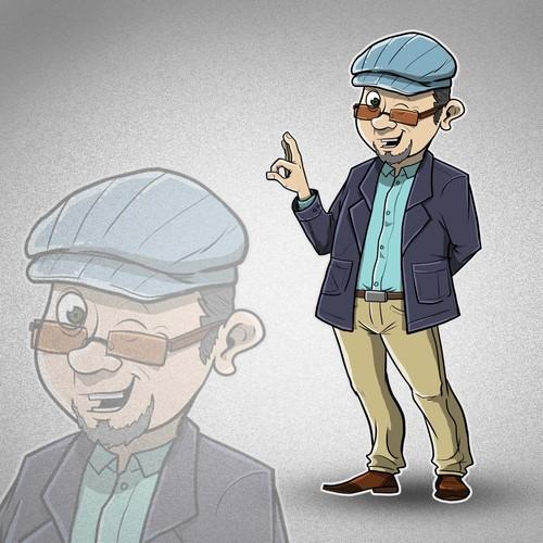 Creëer een unieke character voor VraagSjaak.co