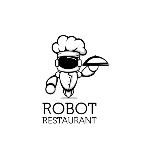 cartoon logo for restaurant...