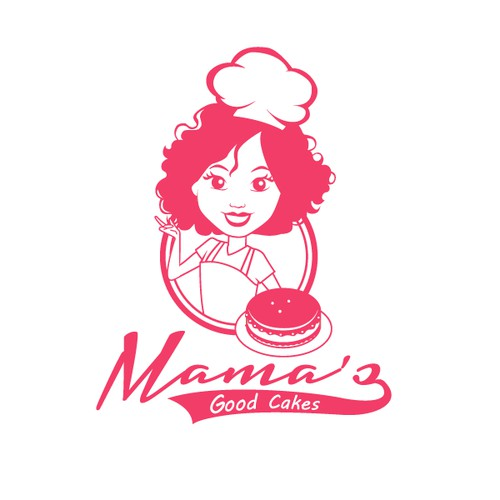 Help Mama's Good Cakes with a new logo