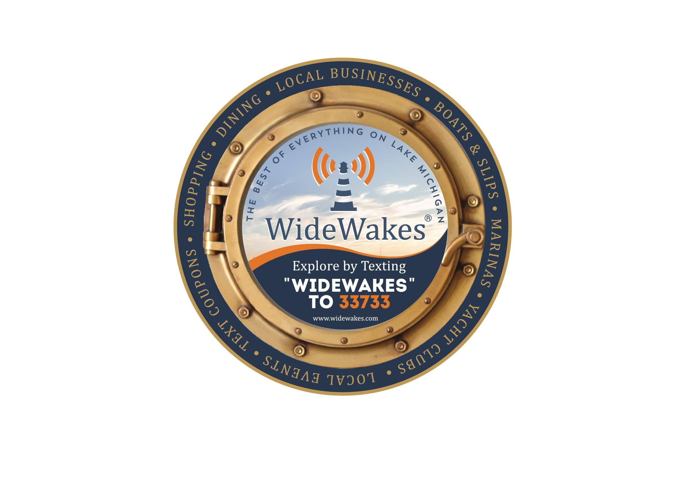 WideWakes Sign & Drink Coaster