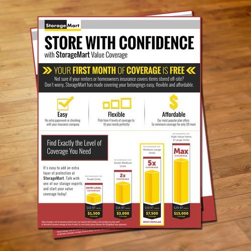 International Use StorageMart Value Coverage Flyer