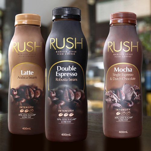RUSH Barista style iced coffee