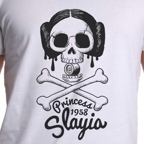 Teen Full Contact Roller Derby T-shirt design