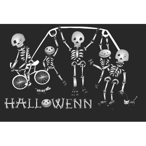 Halloween Illustration that is fun and playful!