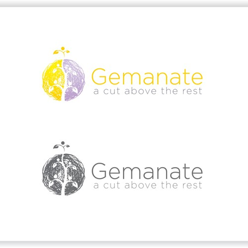 a new logo and business card for Gemanate