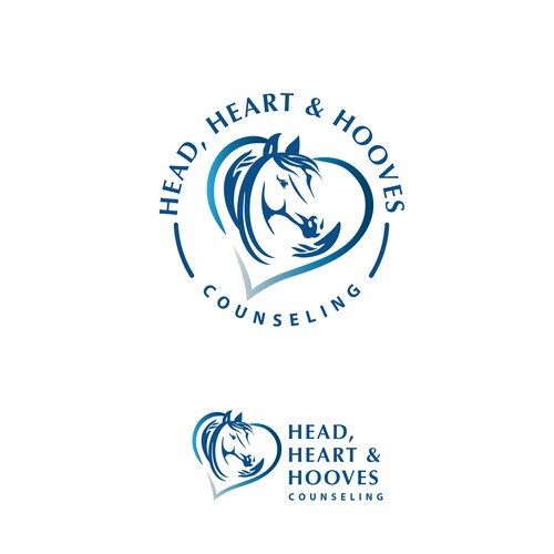 Logo for equine/horses counseling practice