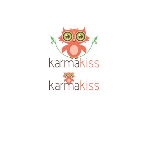 Create the next logo for Karma Kiss