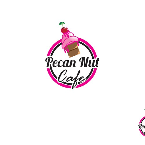 Develop a Jazzy, Sophisticated and Up Beat Logo for the Pecan Nut Cafe