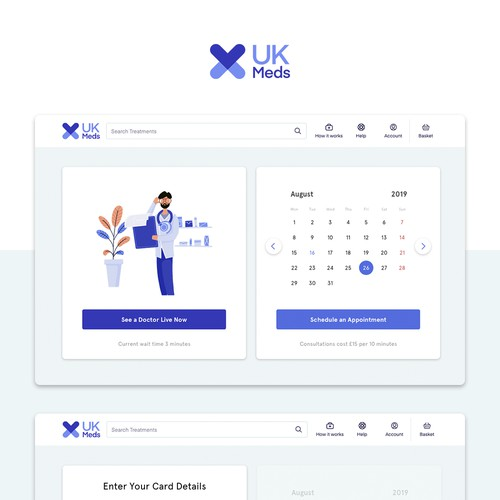 Online Video Web App for Online Pharmacy