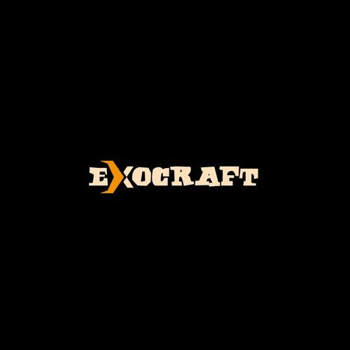 Exocraft logo design