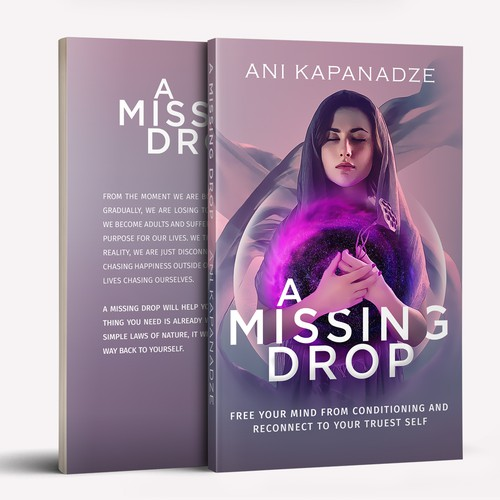 "Book Cover Design for ""A Missing Drop"""