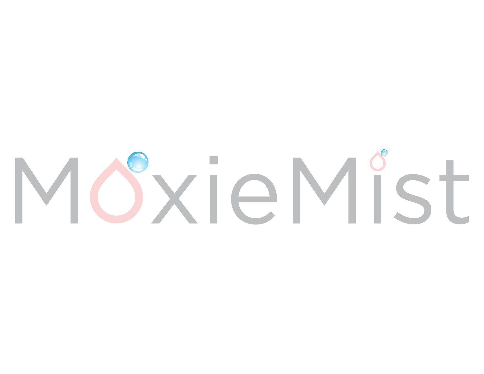 Create a beautifully determined logo for MoxieMist