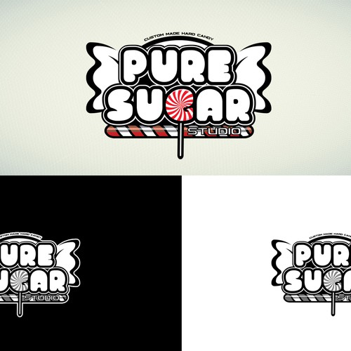 Custom made hard candy Logo contest entry