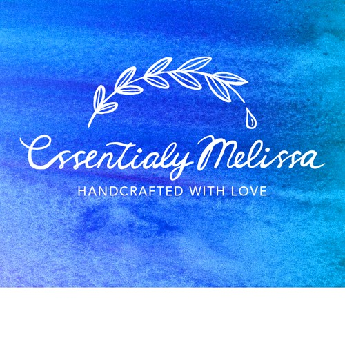 Floral logo for Essentially Melissa