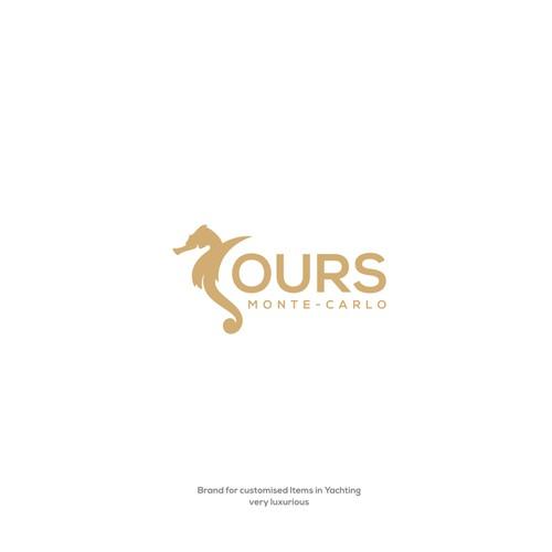 Seahorse monte carlo business logo