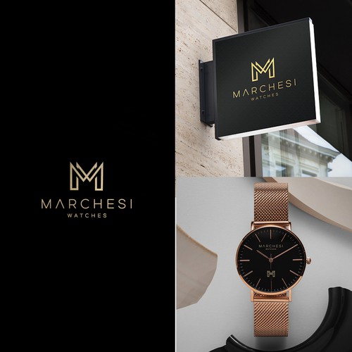 Looking for an eye catching, simple, and abstract design for my watch brand that promotes luxury