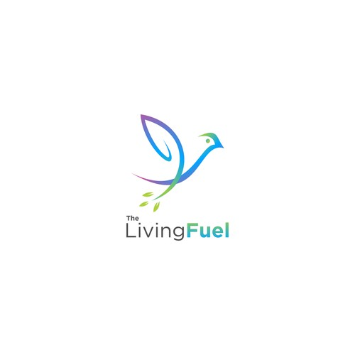 Design a creative logo to build The Living Fuel health coaching practice's brand