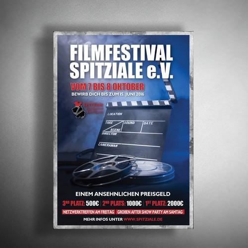 Poster for film festival