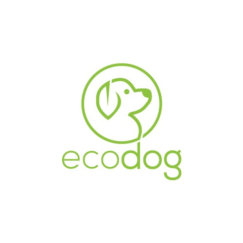 Clear, simple, sympathic, original logo for ecological treated and produced artikels for dogs