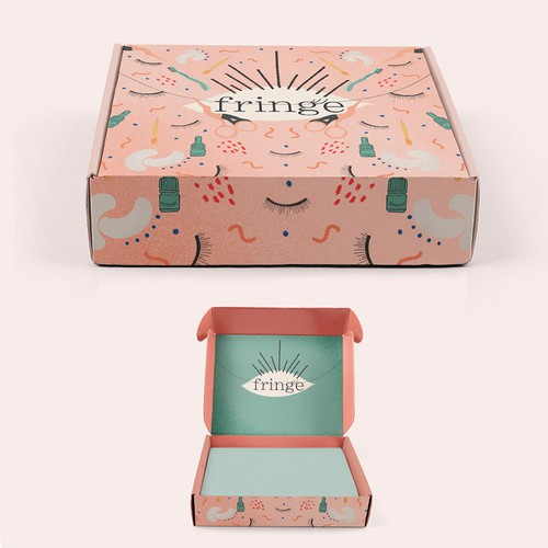 Illustrated packaging design