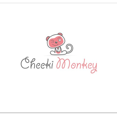 Create a fun logo for Cheeki Monkey children's website