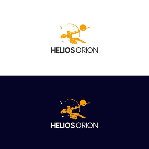 Logo concept for a business company