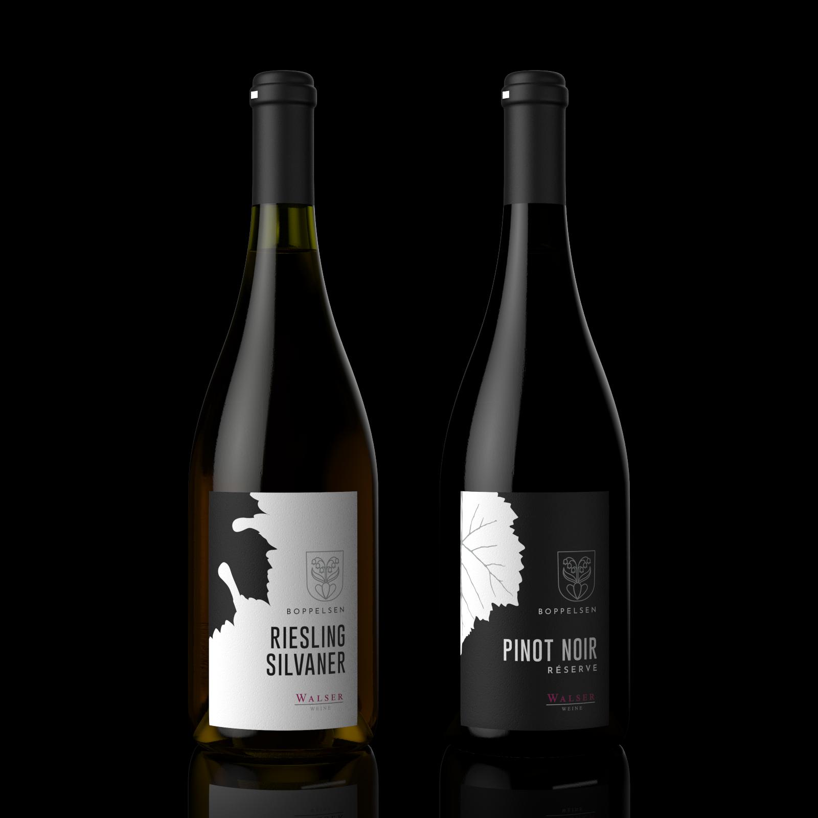 Walser Weine | The Second Wine Label Design