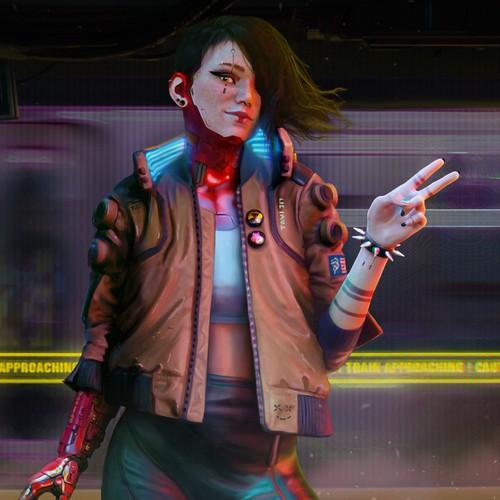 """Cyberpunk 2077 - """"My Night City"""" Contest Entry."""