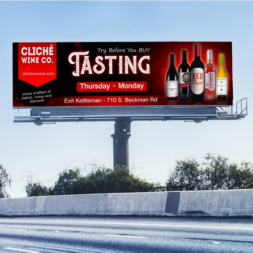 billboard cliche wine co.