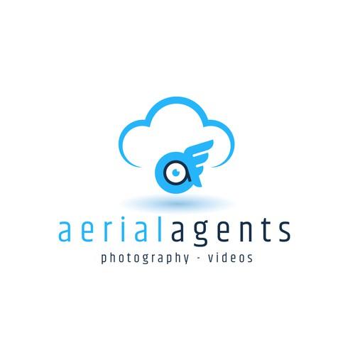 concept logo drone