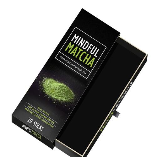 Premium japanese tea label