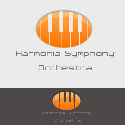 Diseña un logotipo para la Harmonia Symphony Orchestra