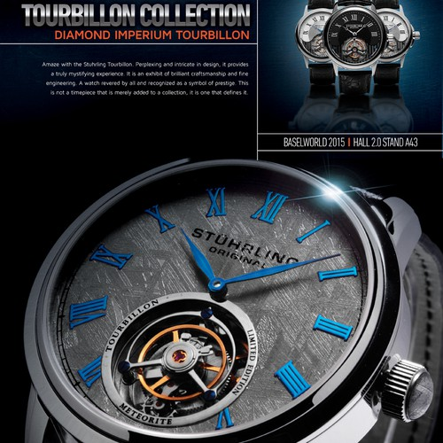 International BASELWORLD Trade Show Newspaper Ad