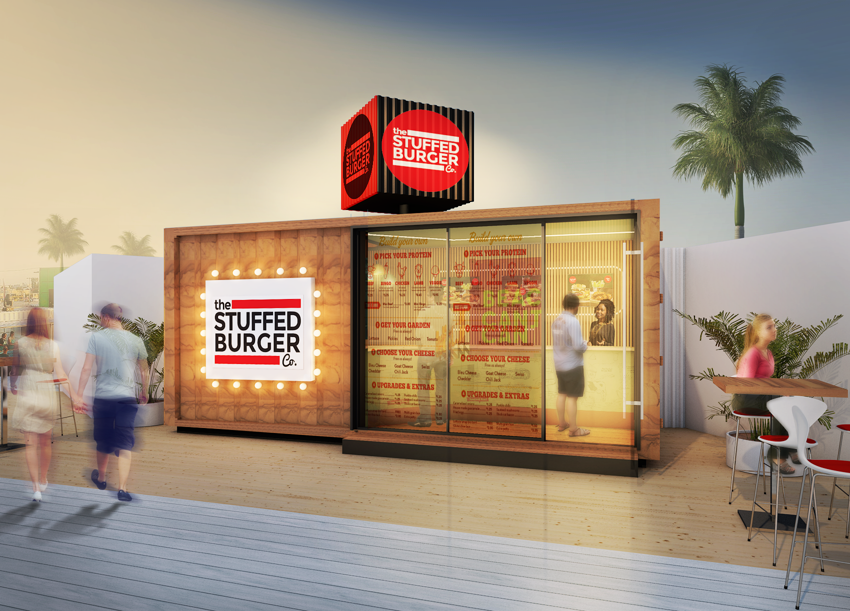 Guaranteed! Container External and Internal Design for Dubai Food Festival!