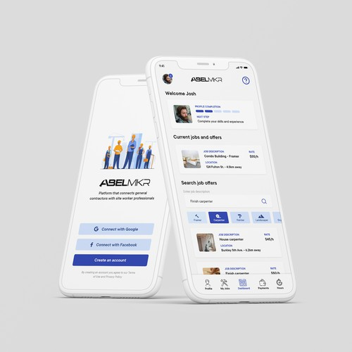 Iphone application design for construction companies and contractors