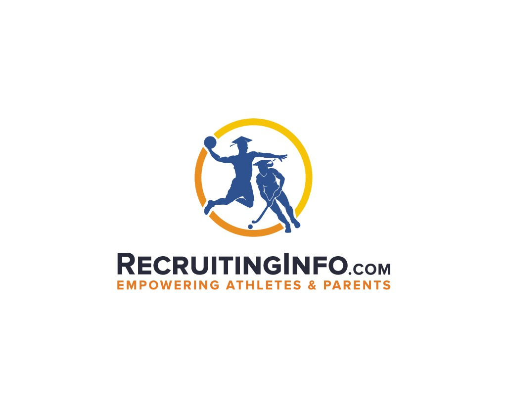 Forum for NCAA recruits needs a logo featuring athlete silhouettes