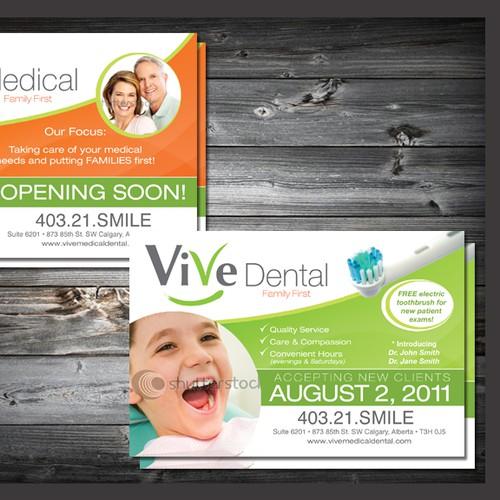 print or packaging design for ViVe Medical Dental