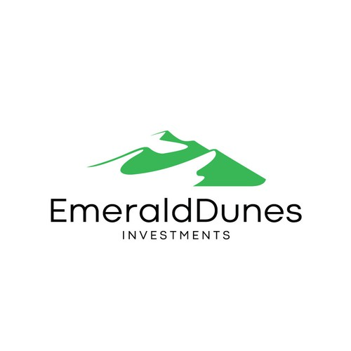 Winning design for Emerald Dunes Investments logo contest.