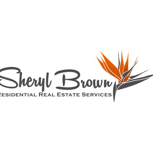 logo and business card for Sheryl Brown