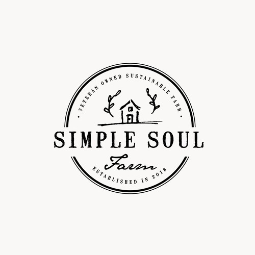 Simple Soul Farm Logo