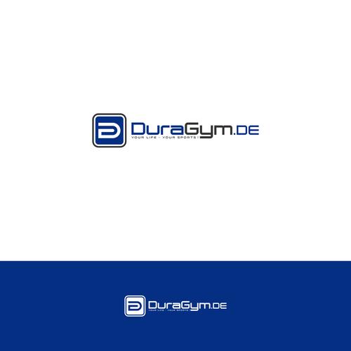 Simple clean logo for DURAGYM
