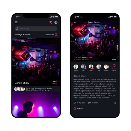 Exclusive Nightlife App